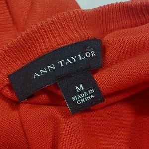 Ann Taylor Short Sleeve Cardigan